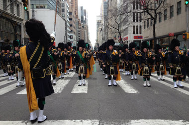 Man Punches NYPD Officer in Face at St. Pat's Parade ...