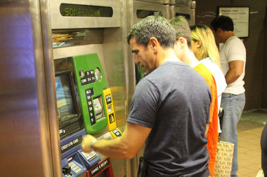 It's not illegal to swipe in riders with your MetroCard.