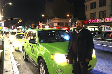 Boro taxis concentrate in certain neighborhoods, stay away from others, data show.
