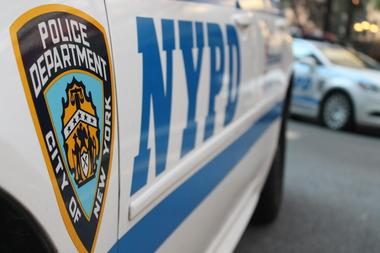 NYPD squad car.