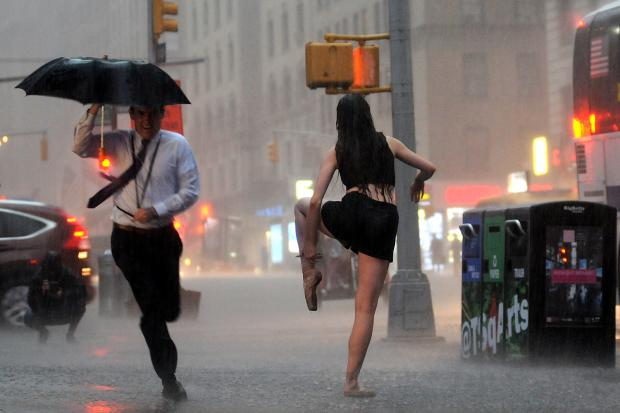 Thunderstorms Headed To Nyc On Latest Day Of Heat Wave