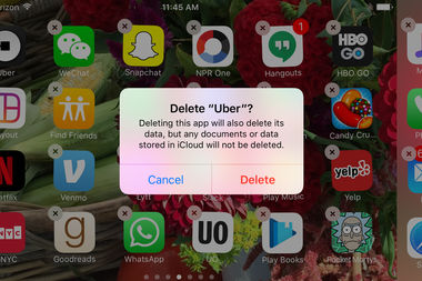 Irate Uber users have been deleting their accounts after the company appeared to take advantage of a yellow cab strike at JFK Airport.