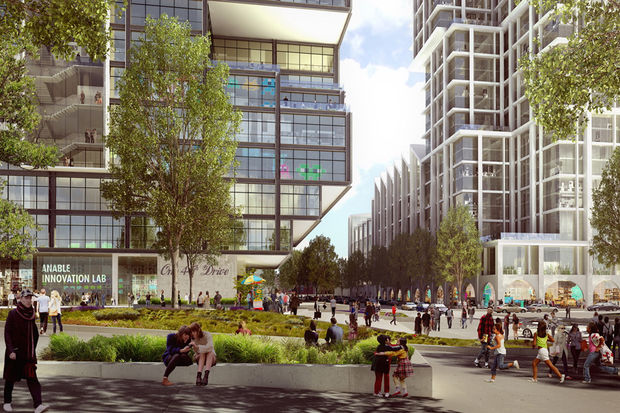 The project will bring 1,000 apartments, commercial space and a new school to the Long Island City waterfront.