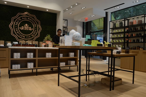 Saje Natural Wellness and its offerings on the Upper West Side.