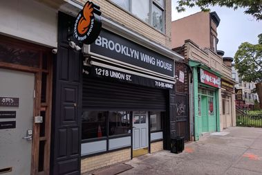 The Brooklyn Wing House is located on Union Street just off Nostrand Avenue in Crown Heights.