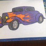 Rat Rod Car Drawing By Countrygal1995 Dragoart Com