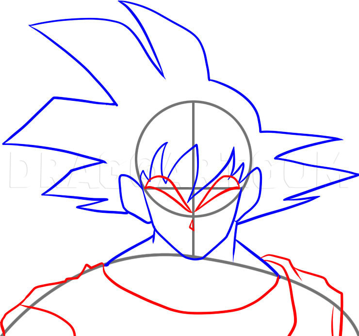How To Draw Dragon Ball Z Kai Step By Step Drawing Guide By Dawn Dragoart Com