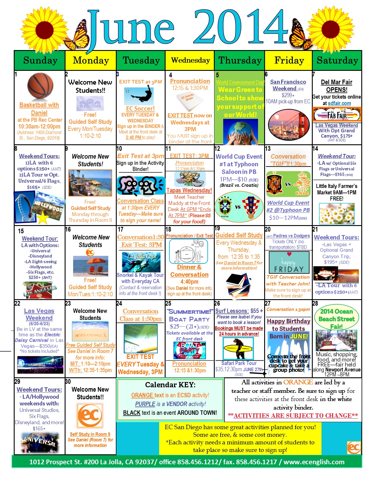 Summer Is Here And So Is Our June Calendar