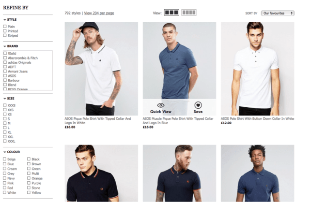men's polo shirts - The Importance of long tail keywords in PPC