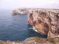 a coastal cliff