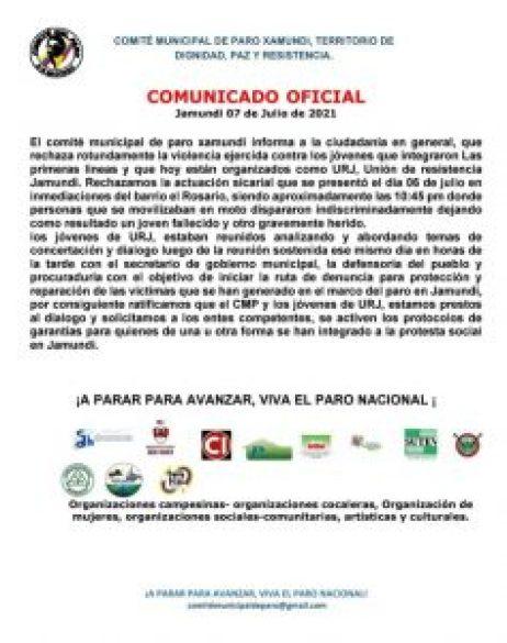 Observadoras de DD.HH. de Chile tras misión en Colombia: «Existen patrones comunes del actuar de la policía chilena y colombiana» - WhatsApp-Image-2021-07-14-at-18.38.21-237x300