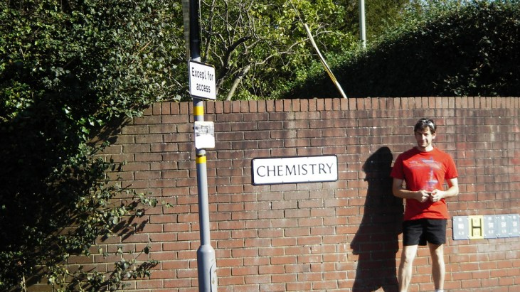 Chemistry-themed places