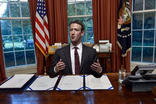Image result for mark zuckerberg for president
