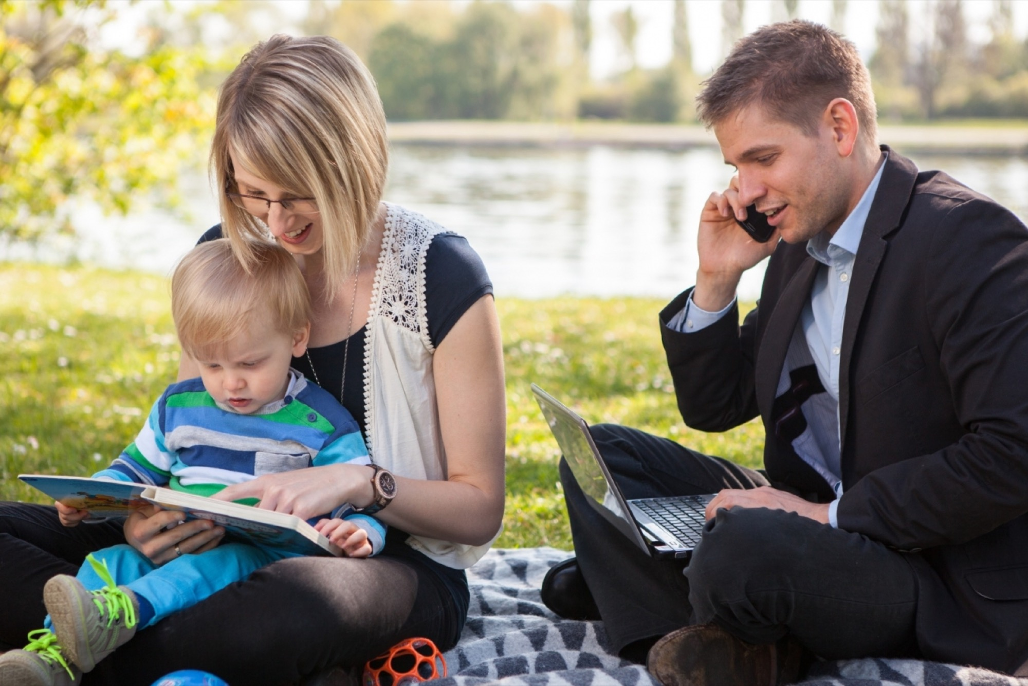 The Key To Achieving Work Life Balance For Parents