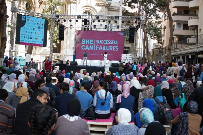 Egypt's SHE CAN 2019 Focuses On Failures As Stepping Stones To Success