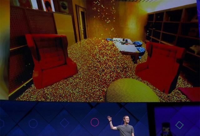 Mark Zuckerberg shows off Facebook's Camera Effects platform