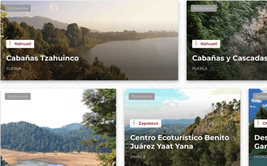 Let's make the country stand out! Vote for Mexico Unknown's digital tourism innovations! 3