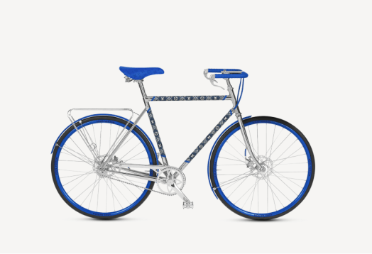 Louis Vuitton launches its luxury bicycle line together with Maison Tamboite 2