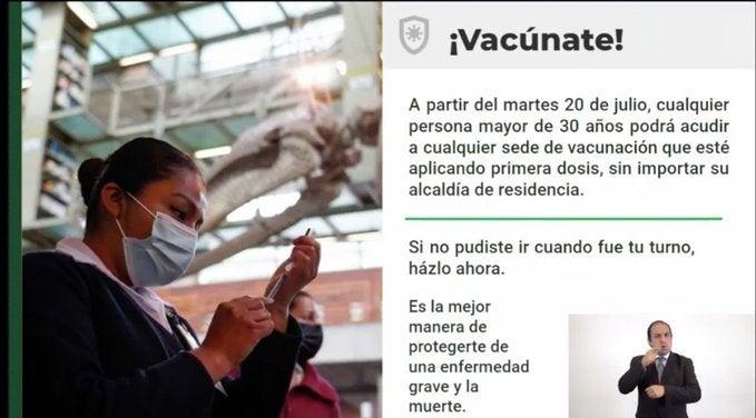1626459728 E6Bnjstwyay9Zj9 Cdmx Will Begin Universal Vaccination For Millennials With Sputnik V, Regardless Of Its Mayor'S Office