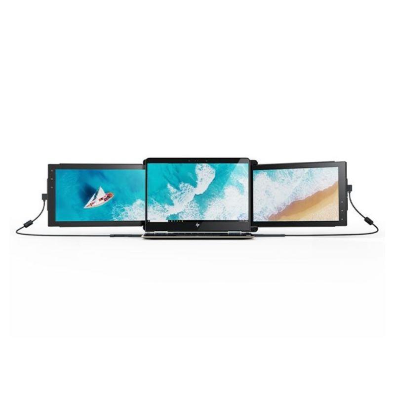 Mobile Pixel TRIO: Portable Triple Screen Laptop Monitor