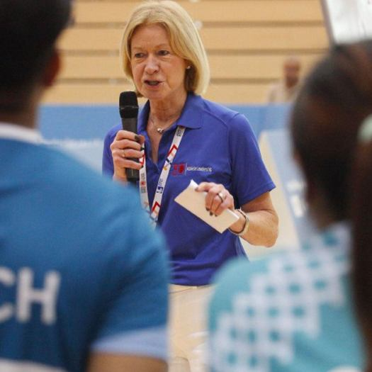 Mary Davis, CEO of The Special Olympics