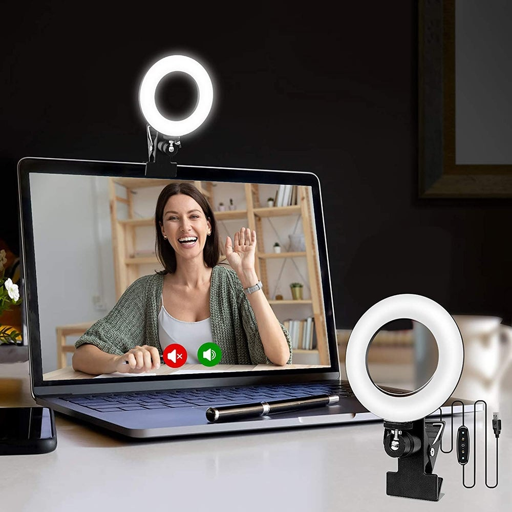 Best Value: Cyezcor Video Conference Lighting Kit ($22)