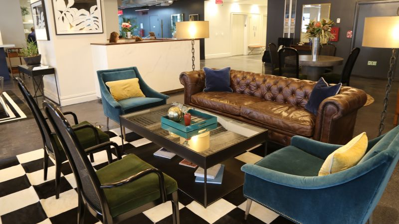 Tour The Sophisticated Space That Proves Coworking Is All