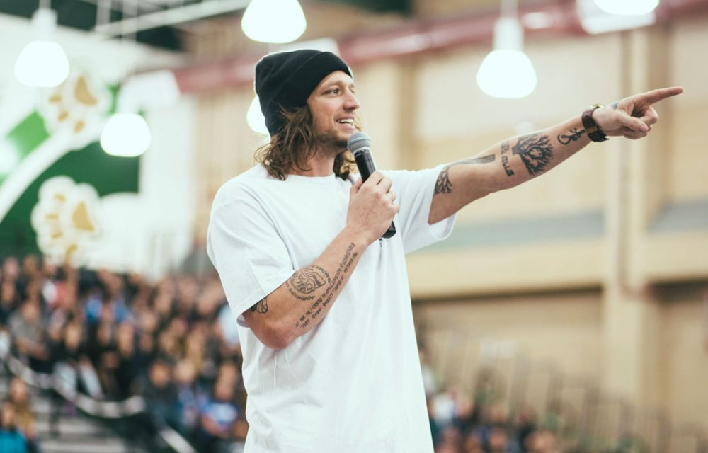 Mike Smith (Founder of The BAY and Skate for Change)
