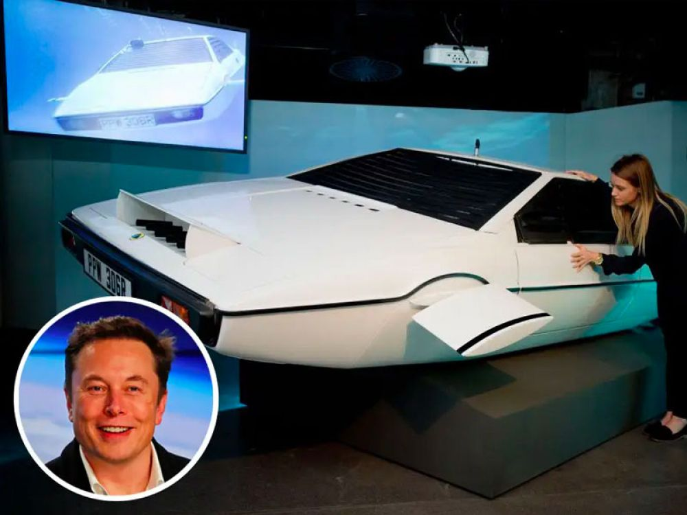 "Unsurprisingly, Tesla and SpaceX CEO Elon Musk has an interest in unusual vehicles. In 2013, for example, he bought the Lotus Esprit submarine car that's used in the James Bond movie ""The Spy Who Loved Me."" Musk paid $920,000 at auction."
