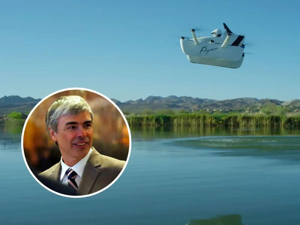 Brin's fellow Google cofounder Larry Page is also interested in flying vehicles, though of a slightly different variety: Page funds three different flying car startups.