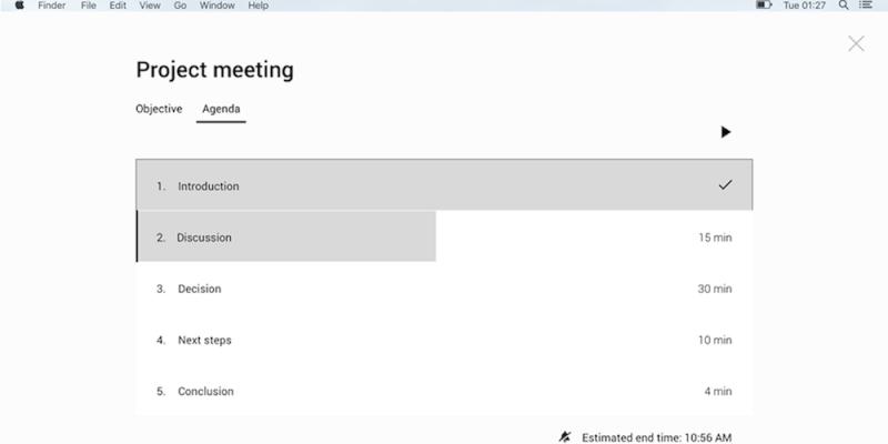 Pinstriped Meeting Tool
