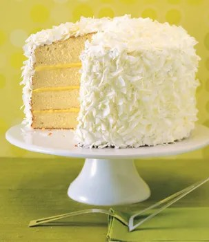 Ginger Lime Coconut Cake with Marshmallow Frosting recipe     Ginger Lime Coconut Cake with Marshmallow Frosting recipe   Epicurious com
