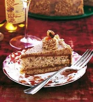 Hungarian Hazelnut Torte recipe   Epicurious.com