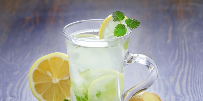 Fresh Mint and Ginger Lemonade recipe | Epicurious.com