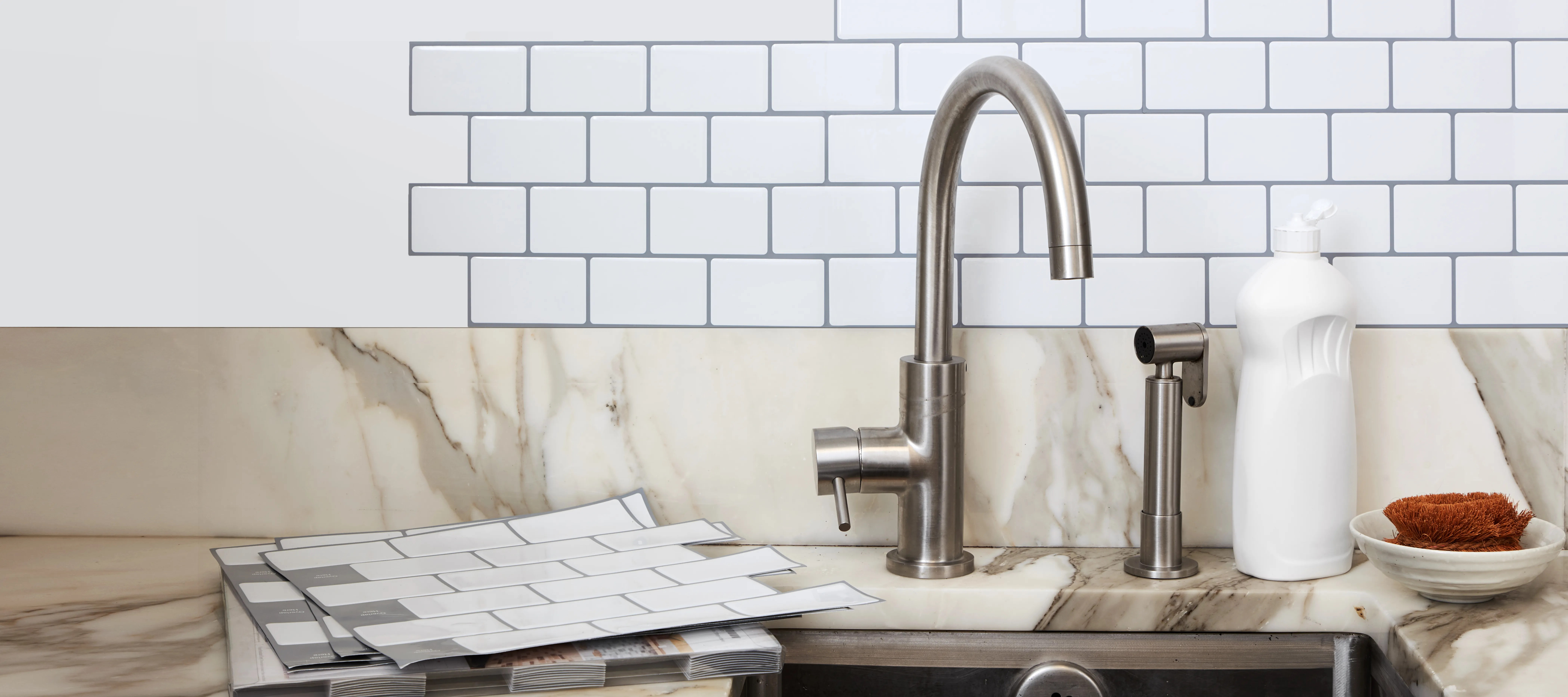 Self Adhesive Wall Tiles Will Transform Your Kitchen Epicurious