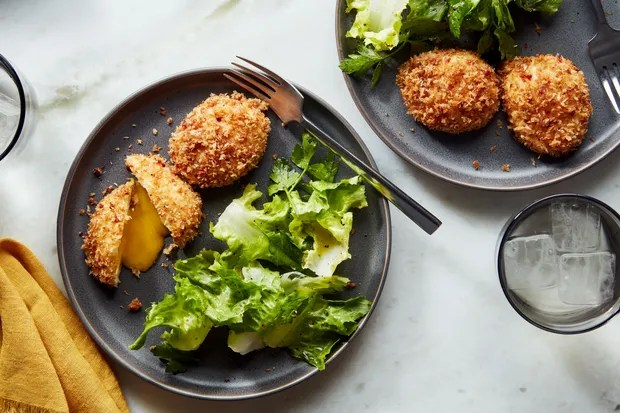 Canal House's Crispy Egg - HERO - V1 / Photo by Joseph De Leo, Food Styling by Anna Stockwell