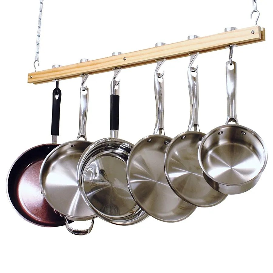best hanging pot racks for your kitchen