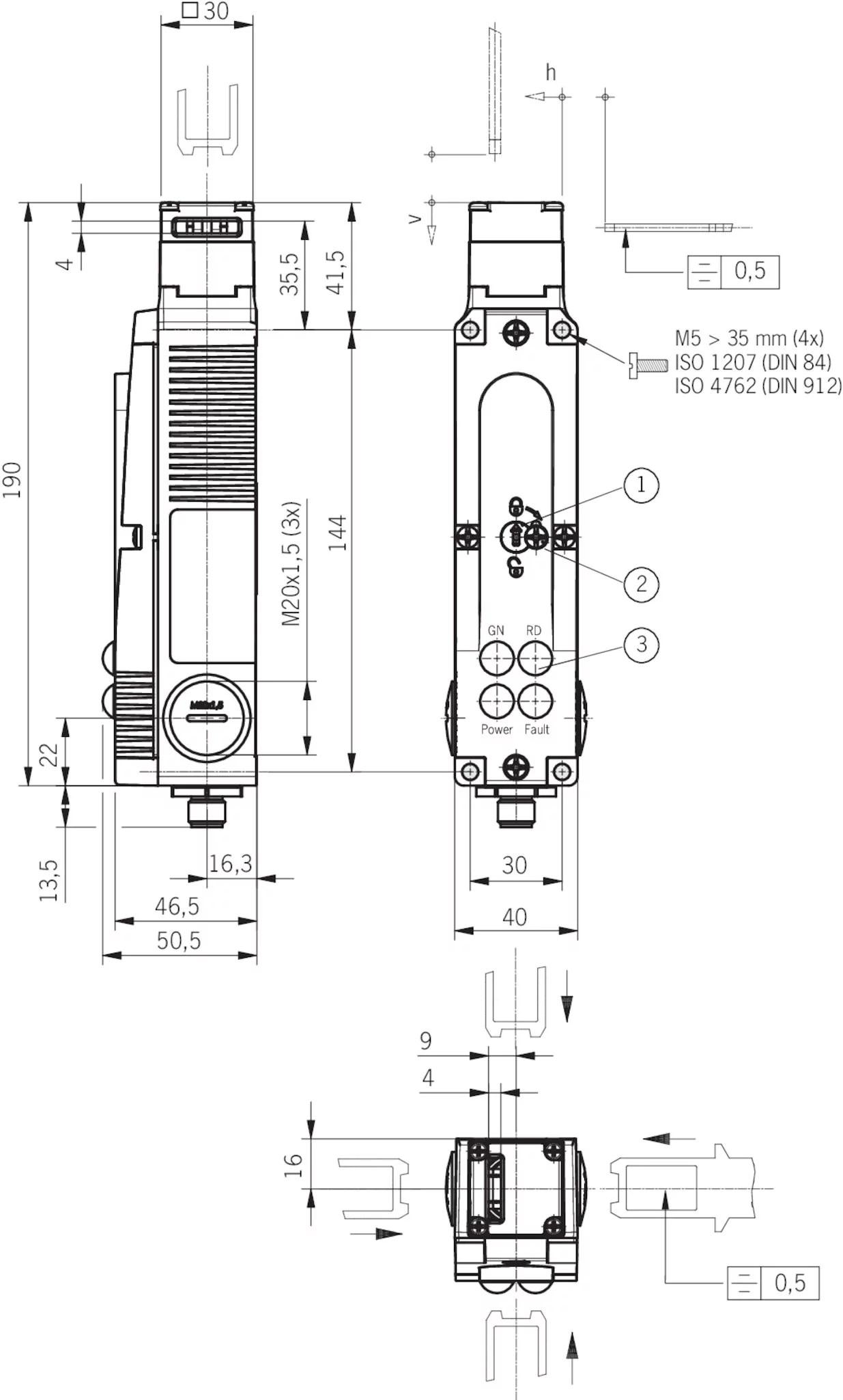 Sta3a A024sem4as1 Safety Switch Sta Asi Plug
