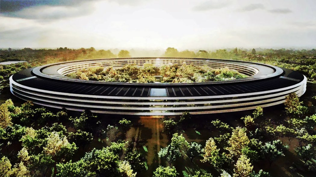 Image result for Apple's $5 billion 'Spaceship' solar system
