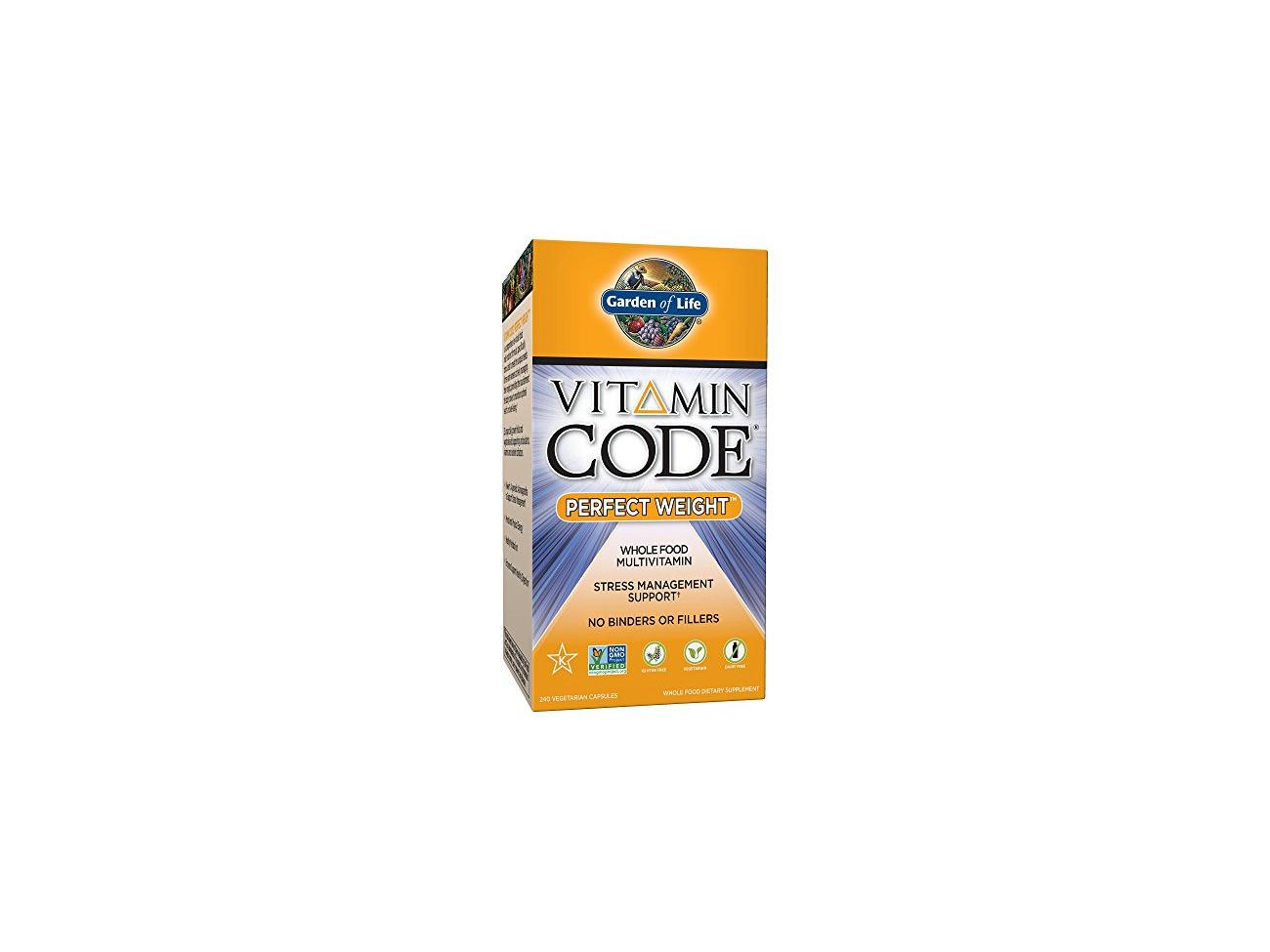 Buy Garden Of Life Vitamin Code Perfect Weight Capsules