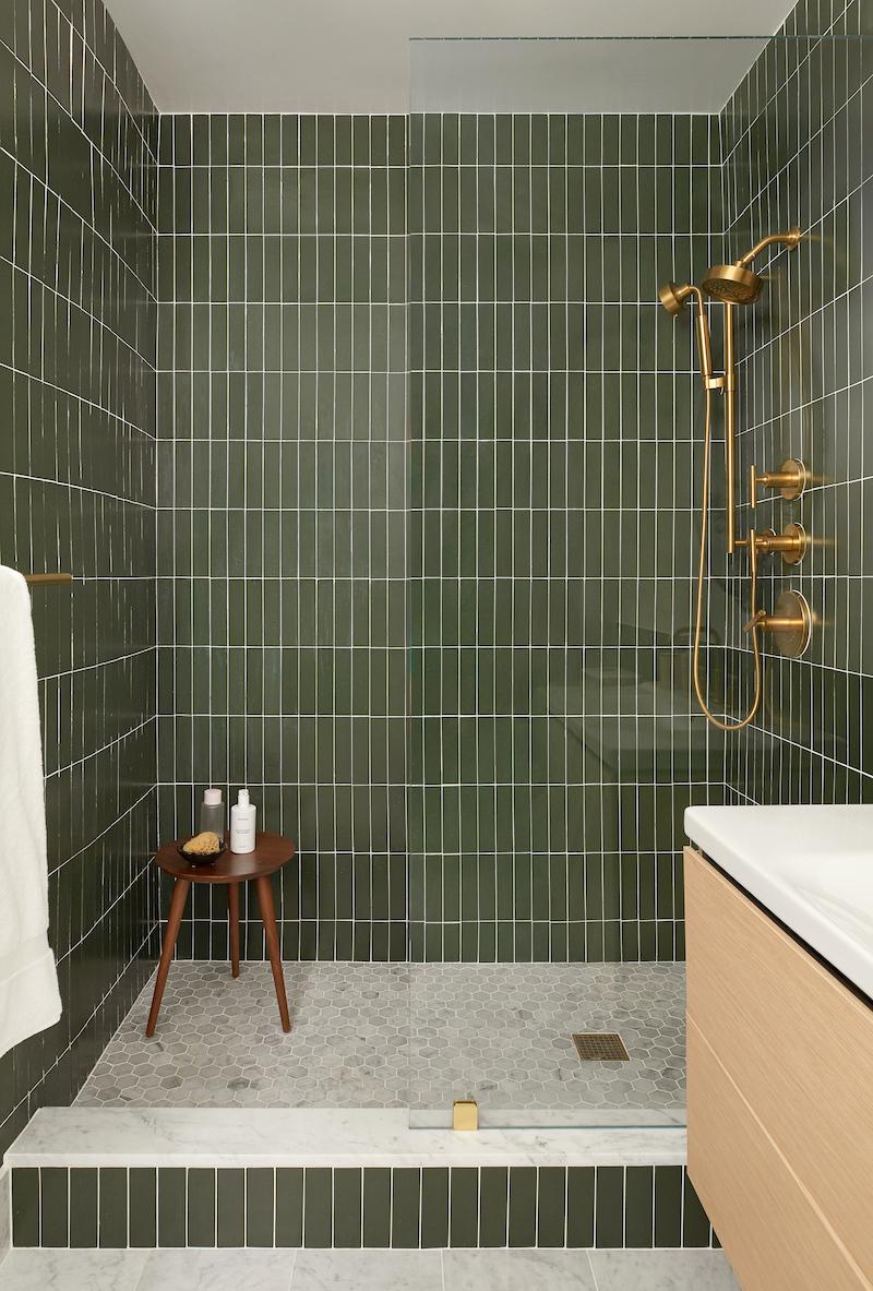 ceramic tile vs glass tile shower fireclay tile fireclay tile