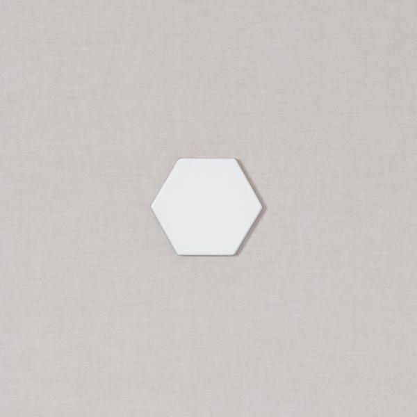 4 hexagon fireclay tile