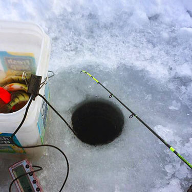 13 Fishing Tickle Stick on Ice