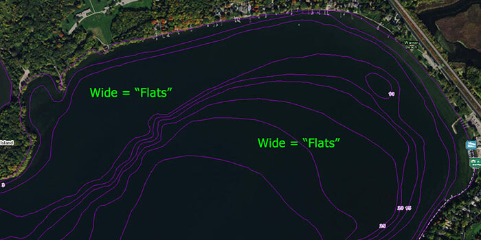 Example of flats located on a Fishidy map.