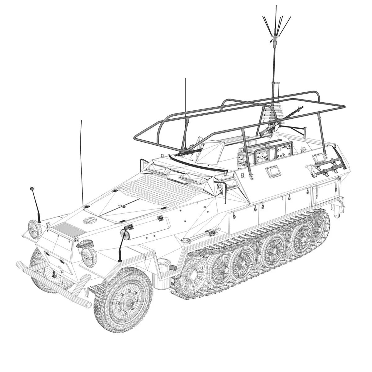 Sd Kfz 251 3 Iv Ausf A