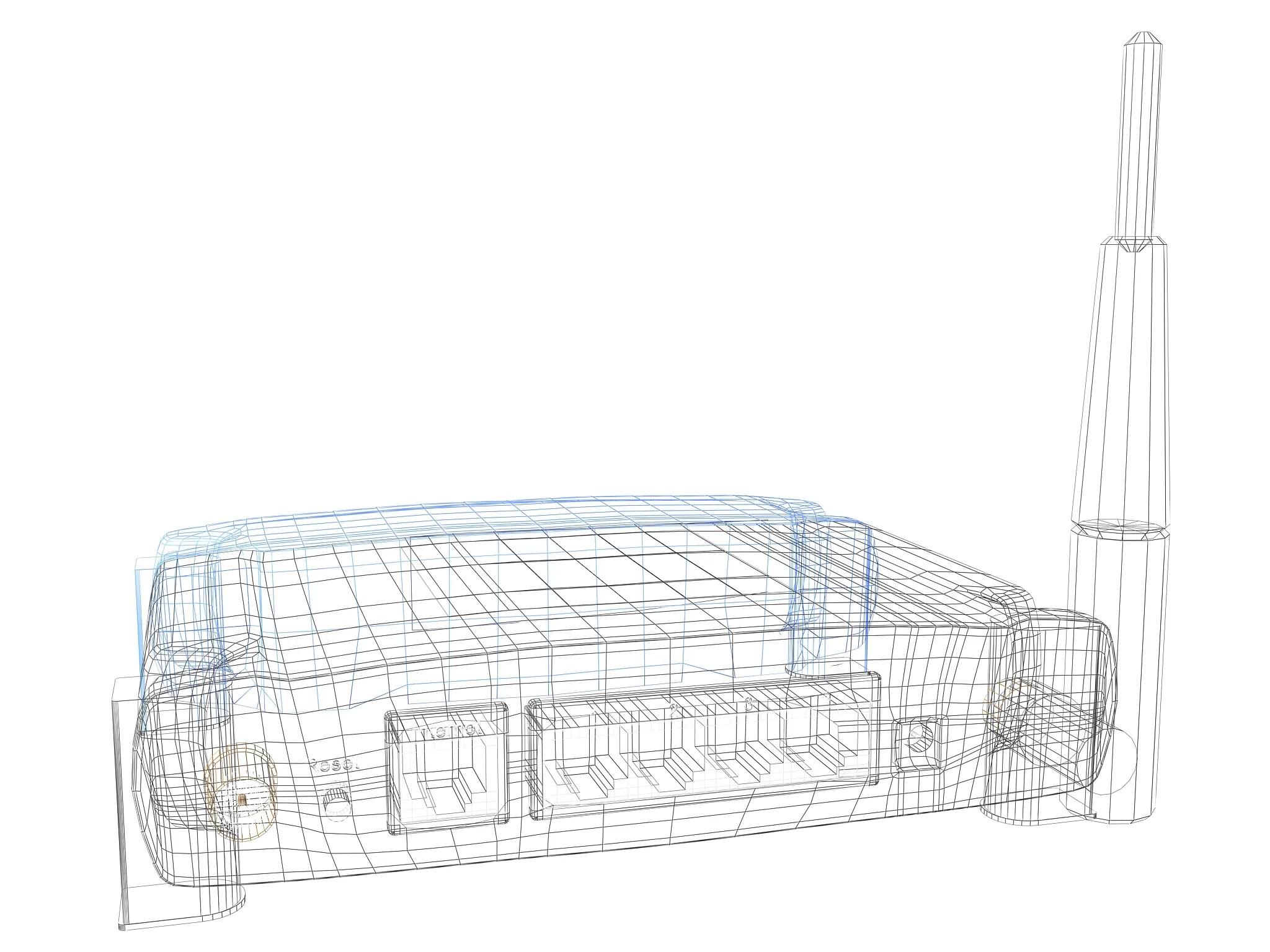 Linksys Wireless Router 3d Model