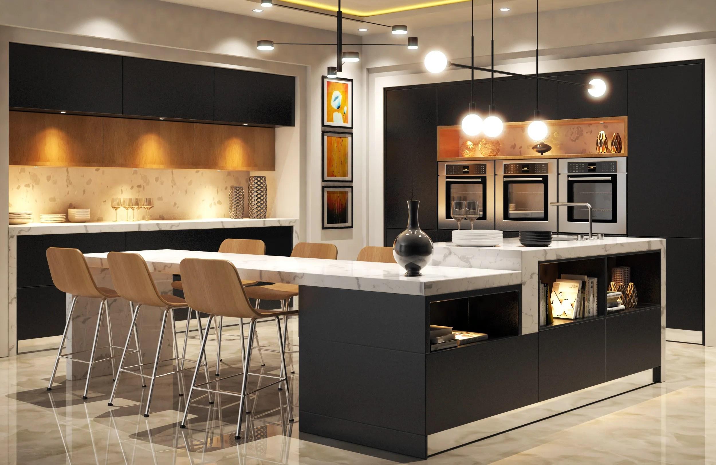 Modern Kitchen 3D Model - FlatPyramid on Modern:8-Rtxafges8= Model Kitchen  id=71257