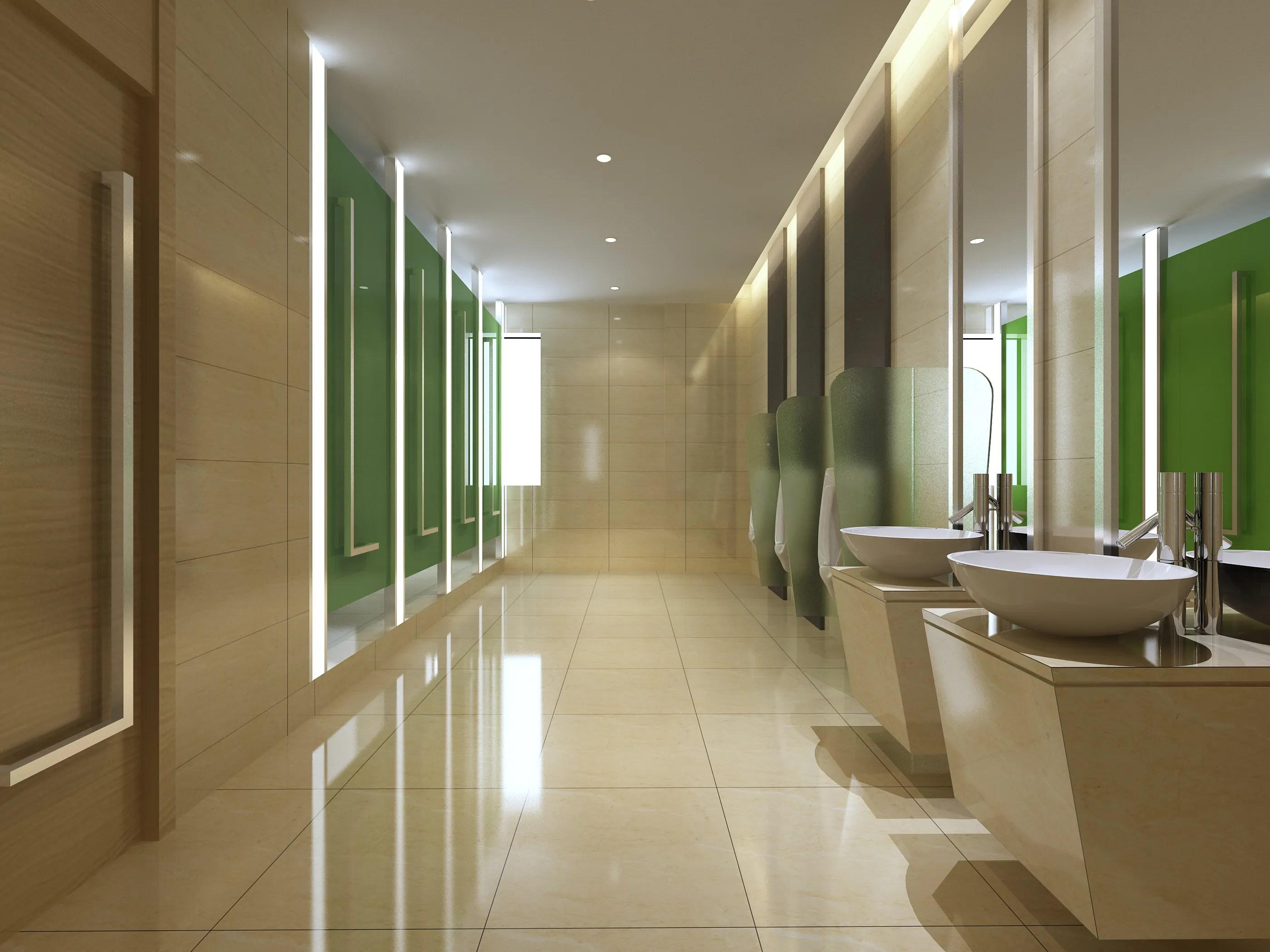 Public Toilet 020 3D Model - FlatPyramid on Model Toilet Design  id=72726