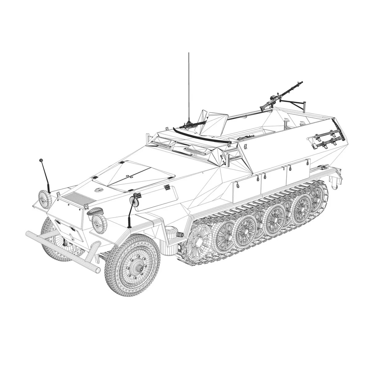 Sd Kfz 251 1 Ausf B