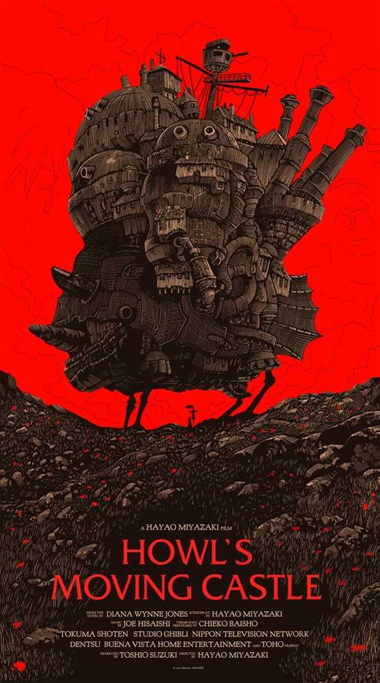 howl s moving castle movie poster
